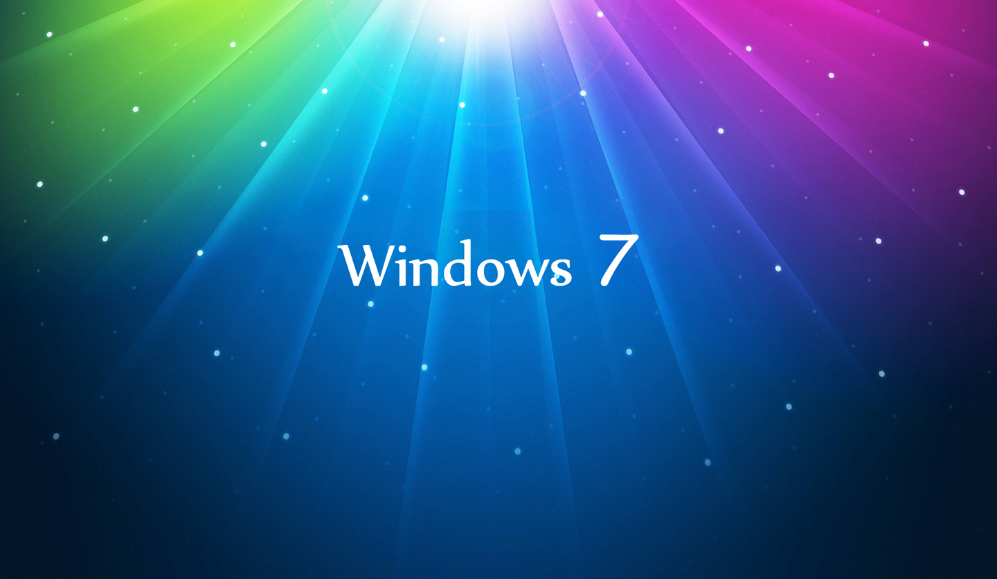 Windows 7 wallpaper aurora