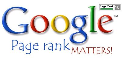 google page rank logo