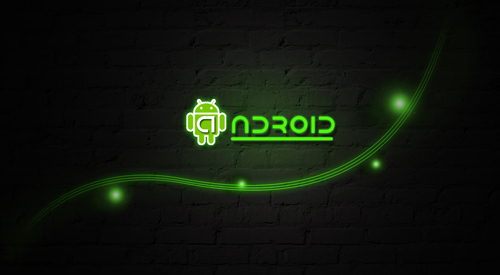 android wallpaper green