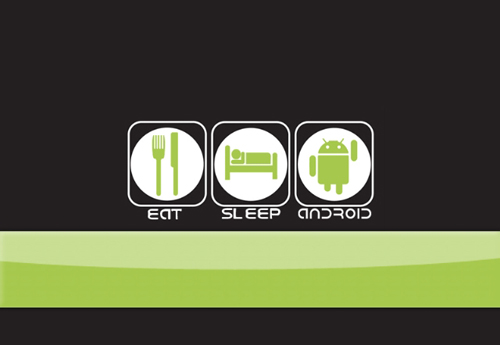 android wallpaper eat sleep