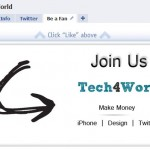 tech4world facebook fan page
