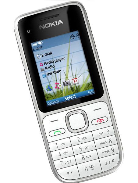 The lower side of Nokia and the Nokia C2