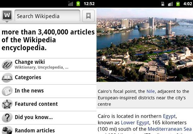 wapedia android app for education The Best Android applications for Education