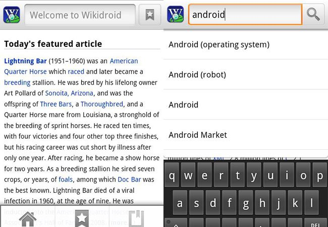 wikidroid-android-app