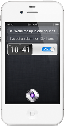 apple iphone 4s features siri