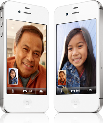 facetime iphone 4s feature