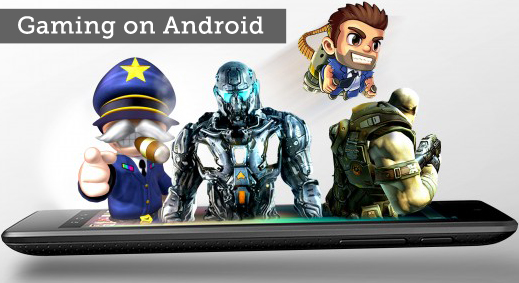 gaming on android