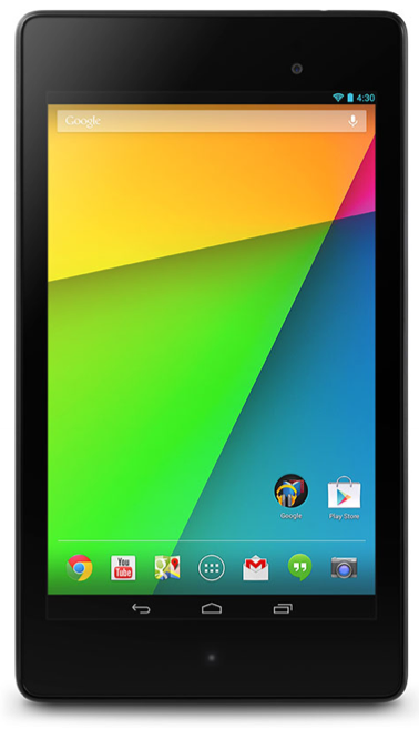Ipad Alternative 1: Google Nexus 7