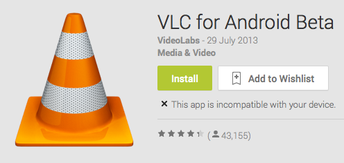 vlc video player for android