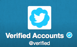 Verified witter Account