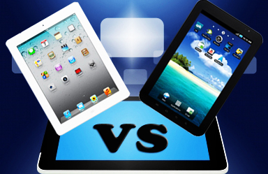 Android Tablets Vs iPad – Comparison of Extremes