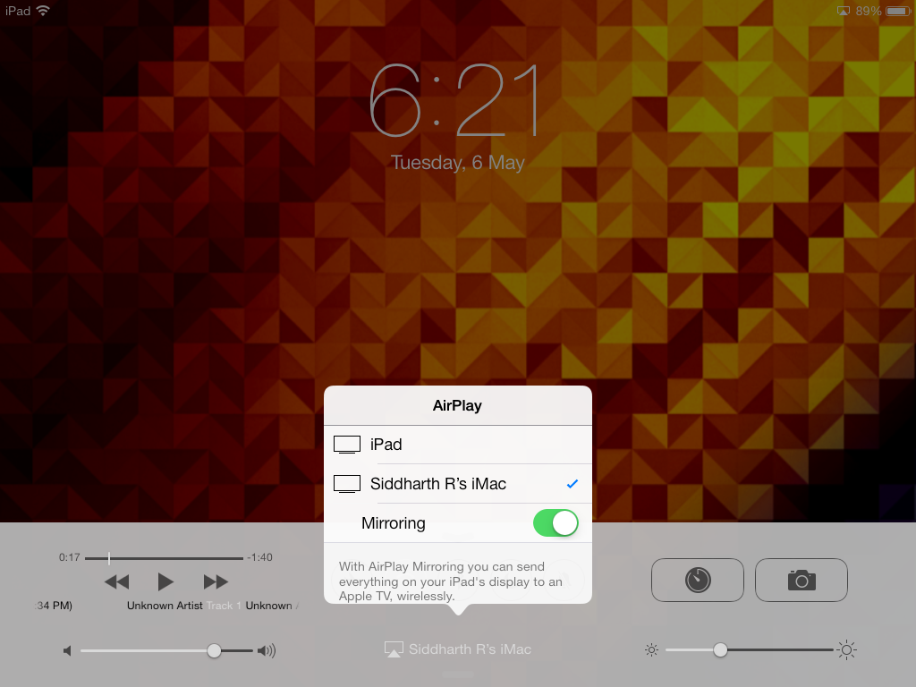 How to Mirror iPad or iPhone on Your iMac