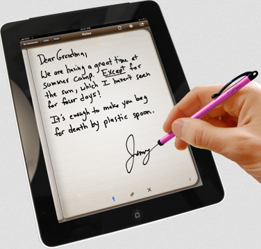 writing on an ipad Jan sapper is raising funds for paperlike - make ipad pro feel like writing on paper on kickstarter make writing, sketching or annotating on the ipad pro with the apple pencil feel like you're doing it on paper.