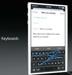 iPhone to Support Third-Party Keyboards from iOS 8 Onwards