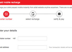 Airtel Prepaid Sms Pack Online Recharge