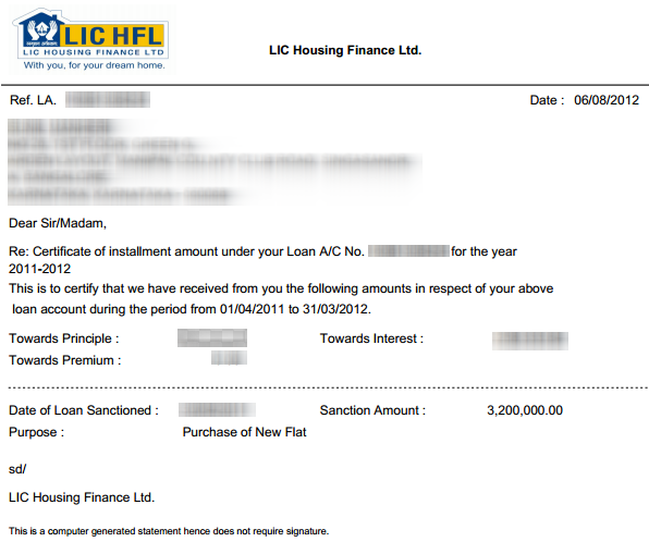 Lichfl generating home loan statement online lichomeloanstatement yadclub